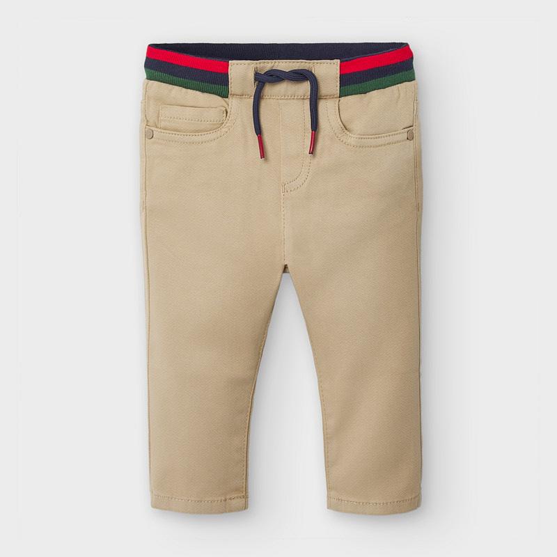 Pantalón largo cintura canalé- Mayoral