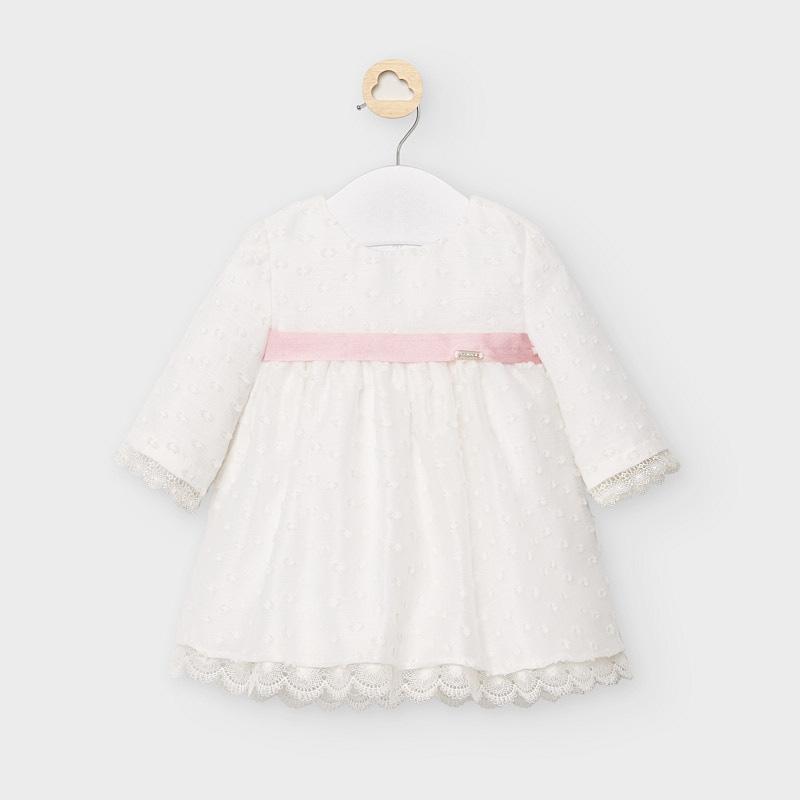 Vestido organza plumeti- Mayoral